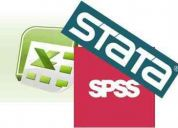 Excel  stata  spss