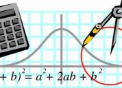 Álgebra y matemáticas