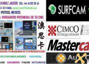 Capacitacion cnc, surfcam, mastercam