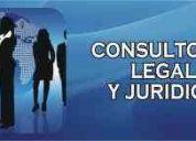 Consultoria juridica y legal