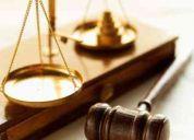 Asesoria juridica y representacion legal