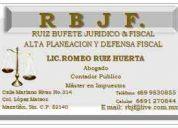 R  b  j  f.   ruiz bufete juridico & fiscal