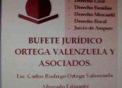 Despacho juridico ortega valenzuela y asoc.