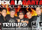 Rockalacarta.mx  tributo heroes del silencio