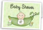 Baby shower cómico y bíblico con efectos especiales