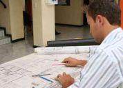 Arquitecto ofrece sus servicios profesionales y formar parte de su equipo de trabajo....