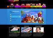 DiseÑador  web programador -ofrezco servicios económicos- incluyo hosting y dominio barato