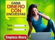 Encuestador(a) online