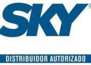Vendedor cambaceo sky