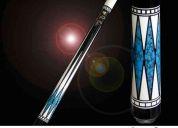 Vendo taco de billar marca adam modelo dani sanchez masterpiece turquesa