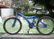Bicicleta rodada 20 para niño