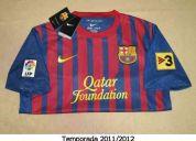 Jerseys de la liga bbva de españa: barcelona y real madrid