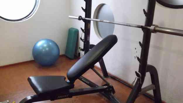 Venta de equipo gym usado en perfectas condiciones benito for Aparatos de gimnasio usados