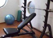 Venta de equipo gym usado en perfectas condiciones