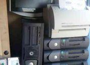 Pentiums  4./ 1 giga de ram     computadoras    25/ 30/ 35 dolares