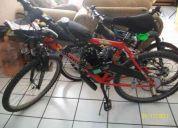 Se vende bicicleta de montaña rod 26, bicimoto o motocleta....