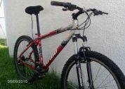 Vendo bicicleta turbo de aluminio en perfectas condiciones