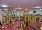 Venta de equipo para gimnasio