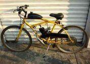 Bicicleta con motor - bicimoto - moskito