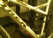 Vendo   biciccleta de  aluminio