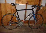 Bicicleta raleigh de ruta.