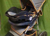 Carreola 3 ruedas con portabebé se hacen envíos a todo méxico
