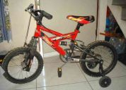 Vendo bicicleta marca hot wheels
