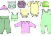 9 prendas de ropa de bebe recién nacido : patrones para confeccionar ropita