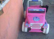 Jeep de barbie electrico