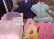 Lote de ropa para bebe niña seminueva!!!