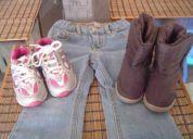 Lote zapatos para niña seminuevos exelente precio!!!