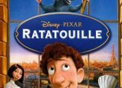 Vendo pelicula original de ratatouille en dvd