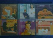 Cds originales, coleccion lounge...