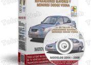 Manual de servicios al motor dodge verna accent 2004 al 2006 bandas gasolina pistones boxe