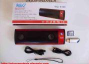 Mp3-bocinas radio fm lector de memorias usb y sd!!! mod. s-100
