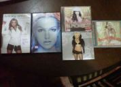 Vendo cds-dvds de britney spears en buen estado