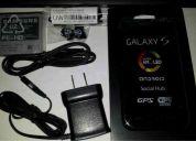 Vendo samsung galaxy s i9000 24gb como nuevo garantia telcel actualizado a  2.3.4 liberado