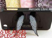 Base funda iphone 4 y 4g varios colores alas de Ángel desplegables
