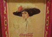 Charola coca cola 75 aniversario embotelladora la favorita