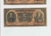 Billetes antiguos de mexico de la revolucion