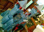Castillo medieval playmobil  de dragon rojo 3269