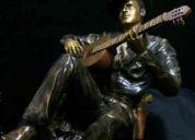 Pedro infante escultura en bronce