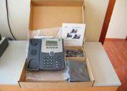 Remato 2 telefonos ip cisco-linksys spa502g nuevos