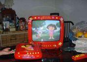 Dora la exploradora television y dvd player regalo de reyes