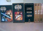 Coleccion de peliculas y dvd de star wars edicion especial