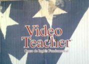 Se vende video teacher , de ingles sin barreras