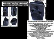 Bafle profesional plastificado amplificado usb y ddisplay 3000 pistas kareokes gratis