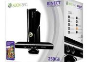 Consola xbox 360 de 250 gb con kinect edicion especial nuevo sin abrir