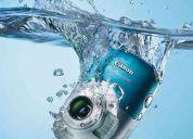 Remato camara digital sumergible acuatica cannon powershot d10 $2500