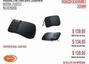 Mouse pad usb con teclado numerico